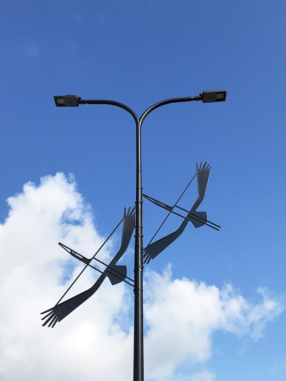 Kured. Installatsioon Tallinna Lennujaamas