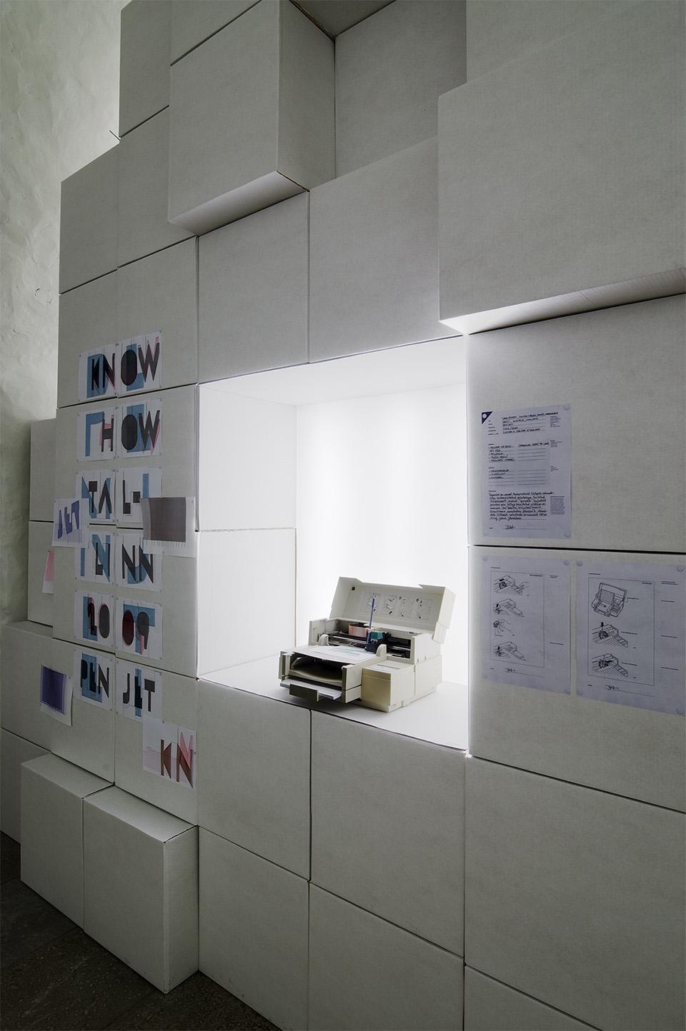 KNOW HOW peanäitus Eesti Tarbekunsti- ja Disainimuuseumis. Foto: Ivar Veermäe